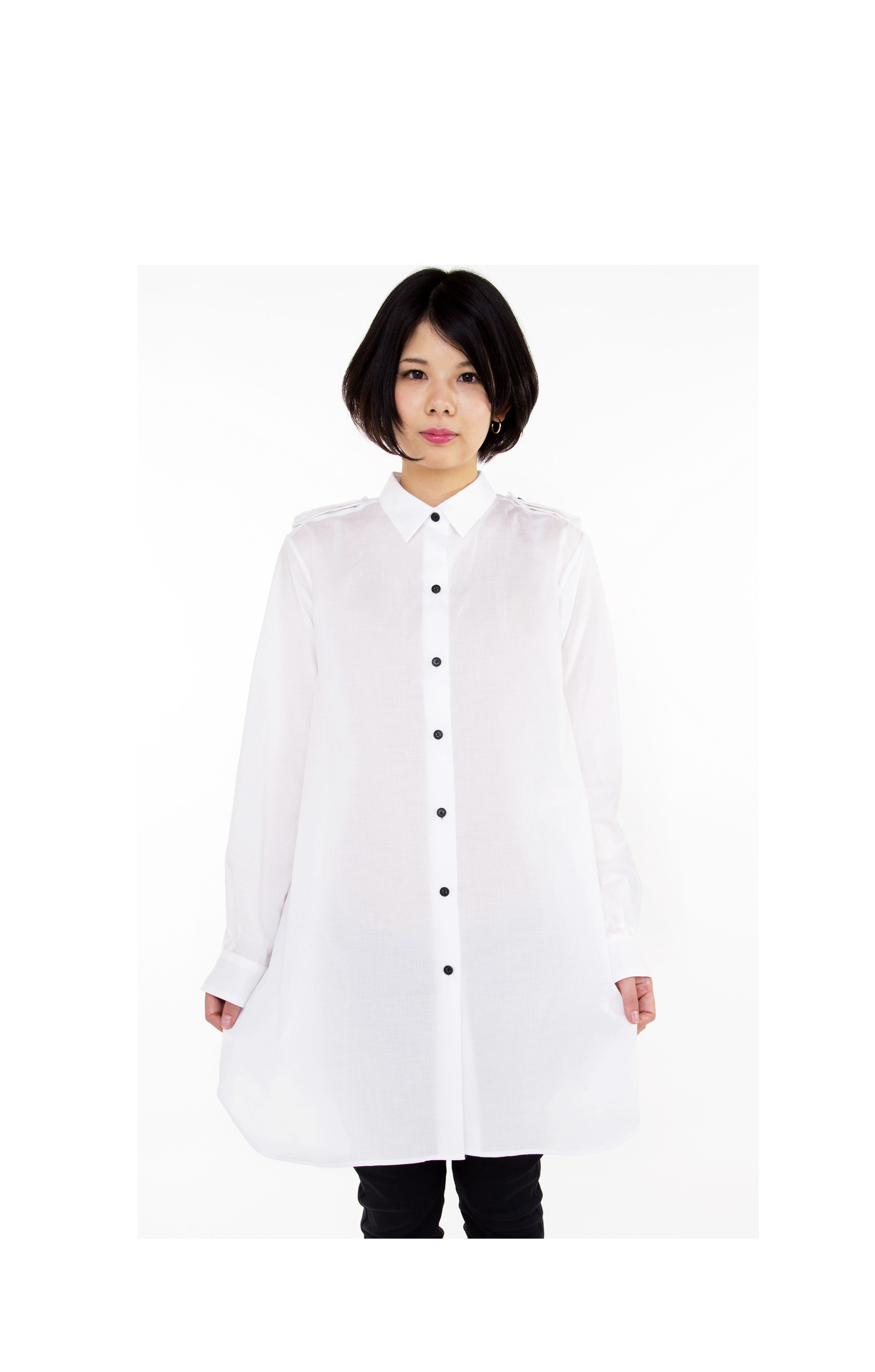 【SALE 50%OFF】 taRo ロングシャツ lady's