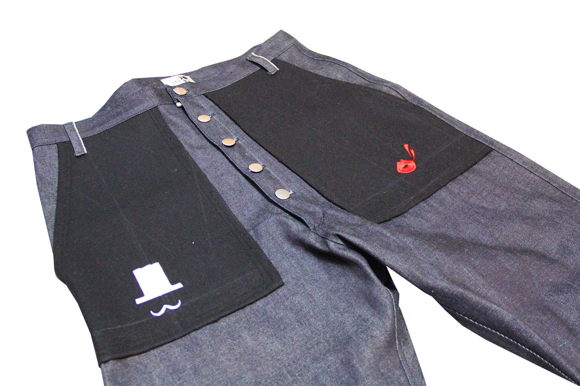 【SALE 50%OFF】taRo ウールポケットデニムパンツ