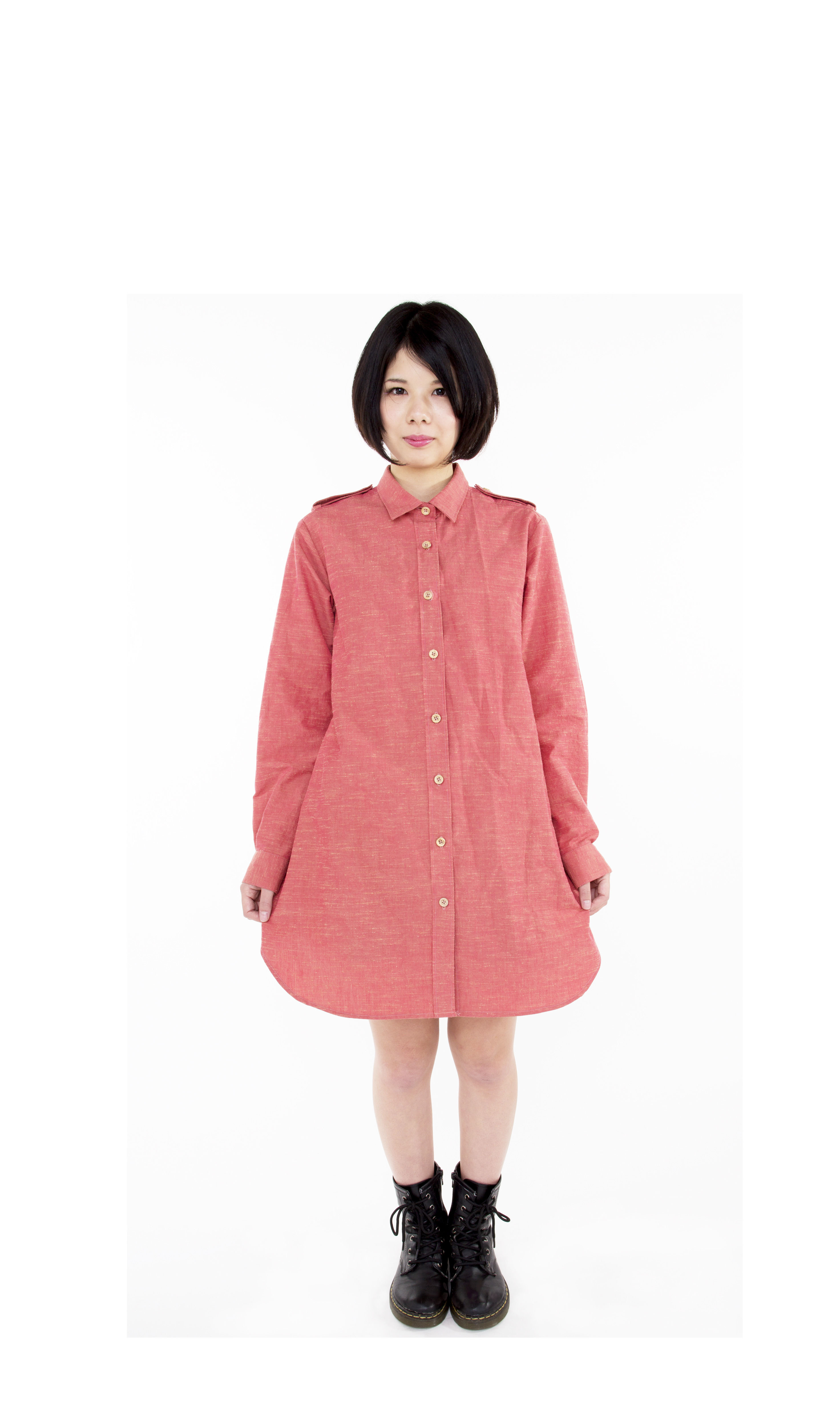 【SALE 50%OFF】taRo ロングシャツ lady's