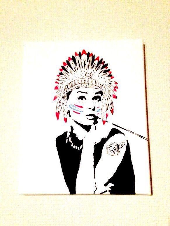 オードリーヘップバーン インディアン