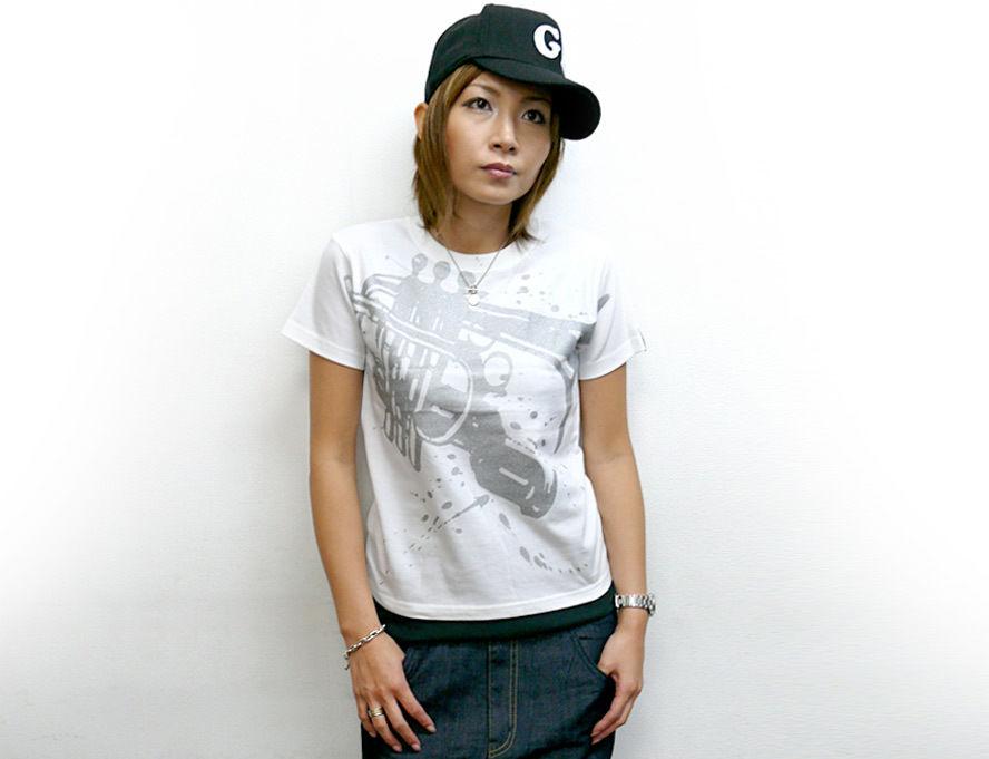 hw003tee - Funk Jazz Tシャツ -G-( ジャズ ブルース ファンク スウィング 音楽 半袖 )
