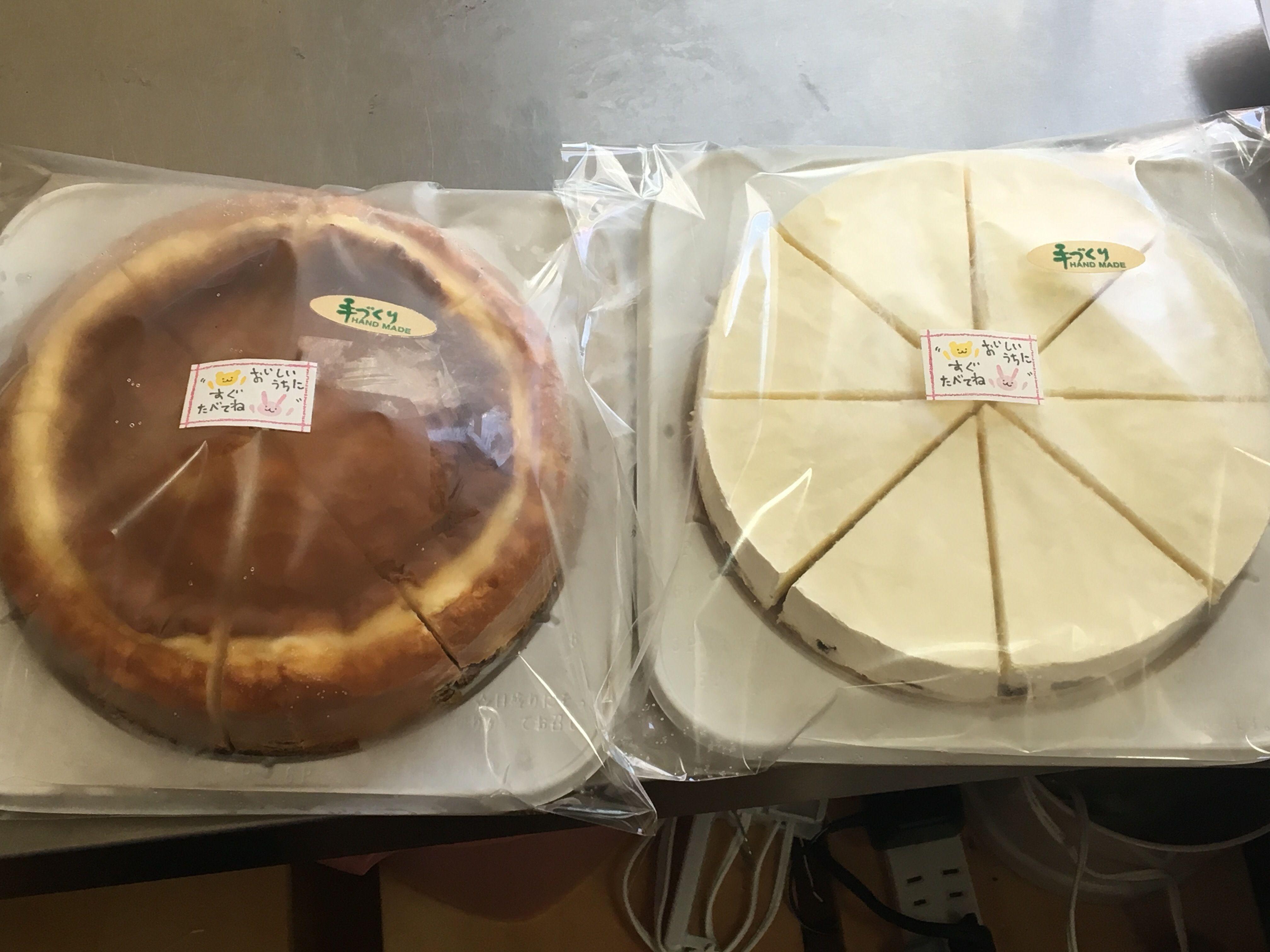 黒豆ベイクド&レアチーズケーキ・2台セット