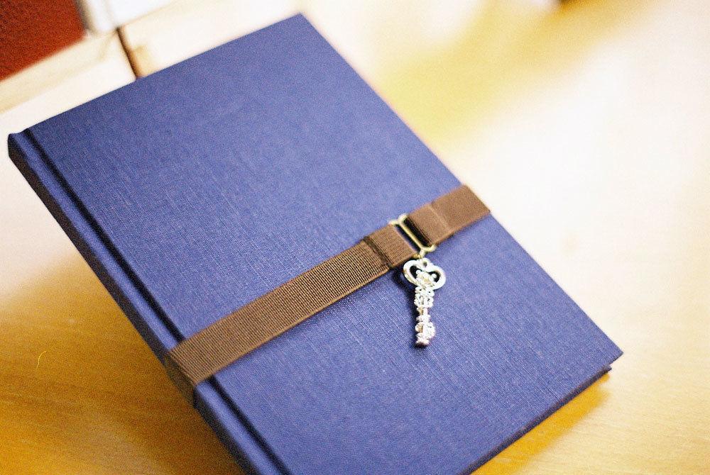 本格製本キット 糸かがり角背上製ノート(布表紙)