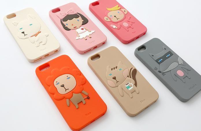 【ハローギークス】iPhone 6+ シリコンケース(5.5インチ)