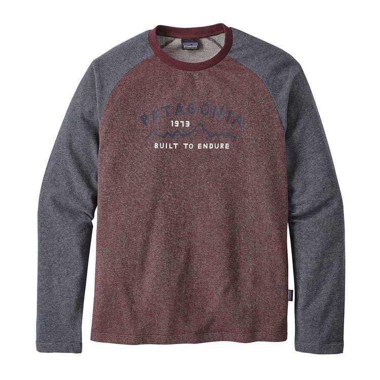 patagonia メンズ・アーチド・タイプ '73・ライトウェイト・クルー・スウェットシャツ #39482
