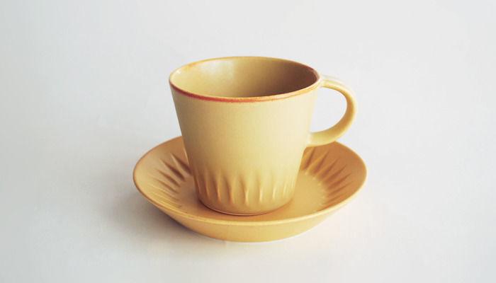 ローリエ カップ&ソーサー カーキオリーブ | 4th-market