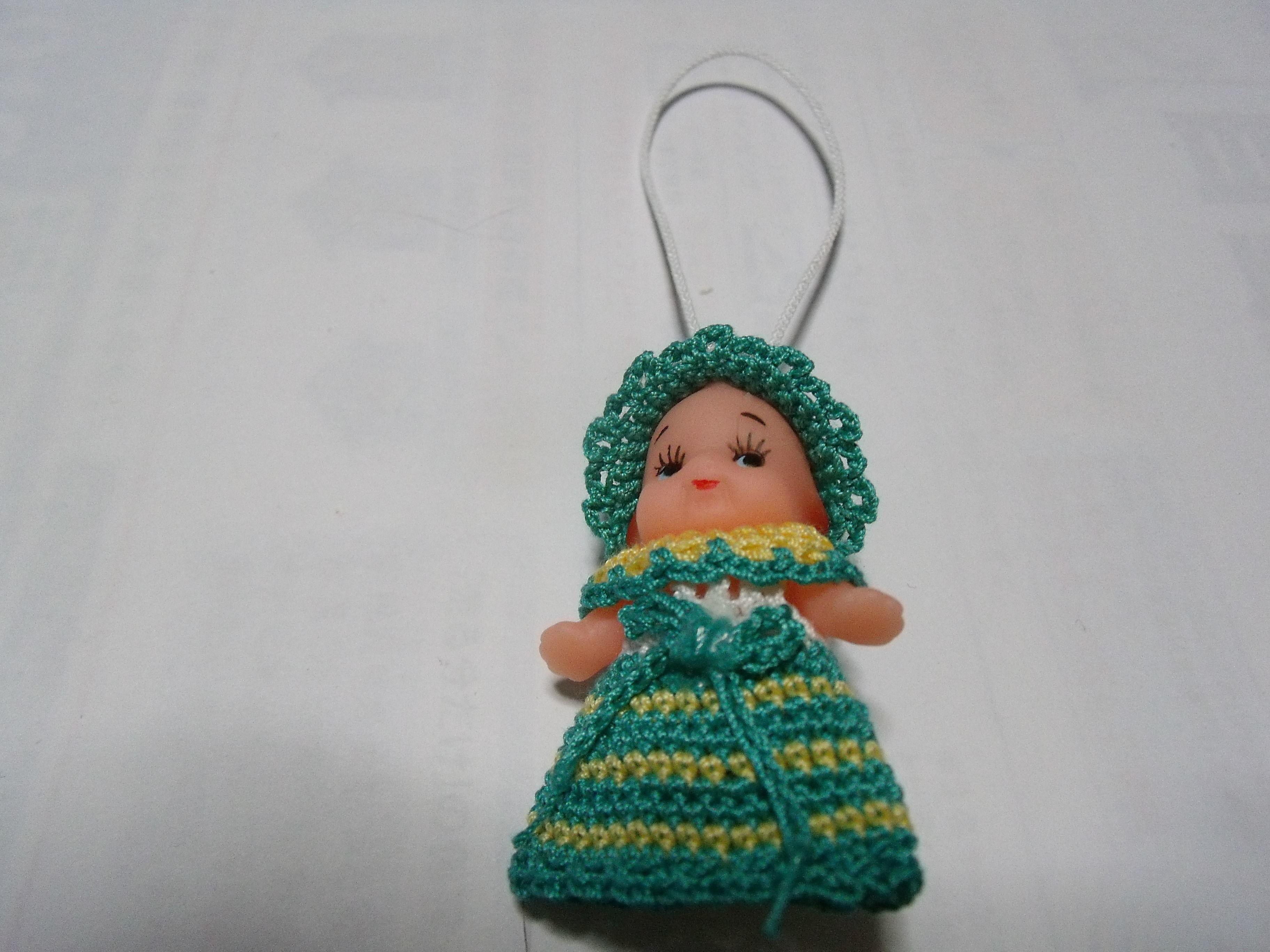 キューピー人形(ライトグリーン)