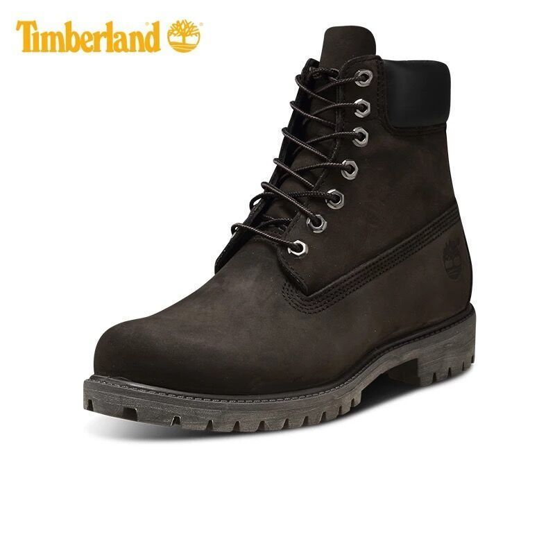 """ティンバーランド Timberland メンズ ブーツ シューズ・靴 6"""" Smooth Timberland Black  ネービー コーヒー"""