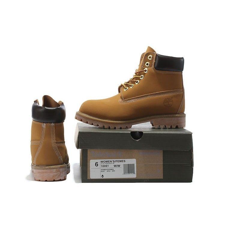 Timberland ティンバーランド ブーツ メンズ 靴 6INCH PREMIUM BOOTS シックスインチ プレミアムブーツ ウィートヌバック イエローブーツ (TB010061)