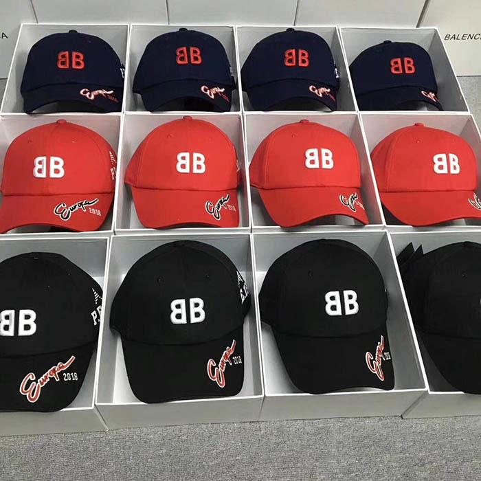 新入荷 送料無料 バレンシアガキャップ 帽子 カップル  XLM5318