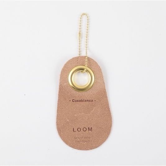 LOOM / Fragrance Leather Tag  /  Casablanca