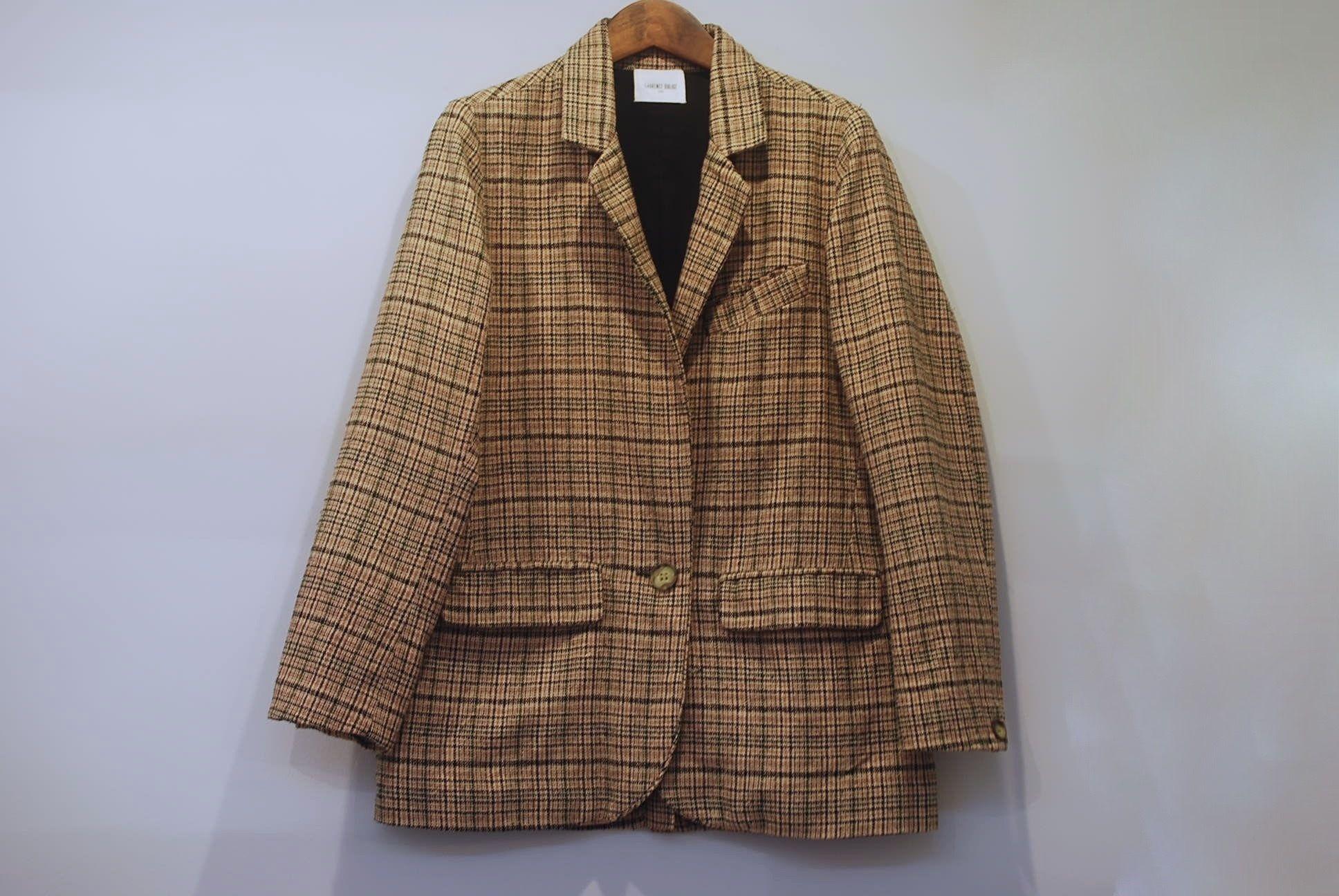 LAURENCE DOLIGE / silk jacket  /  USED CLOTHING