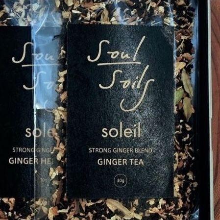 soulsoils × soleil 別注GINGER TEA SET