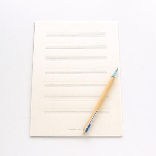 TOSAWASHI RROCUCTS / 土佐和紙の五線譜