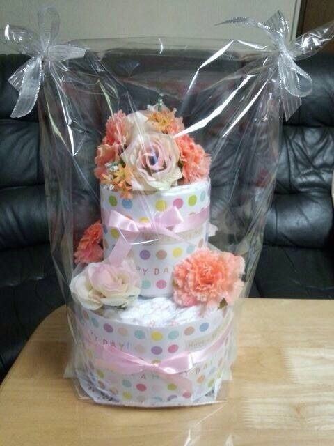 パティシエの作ったオムツケーキ