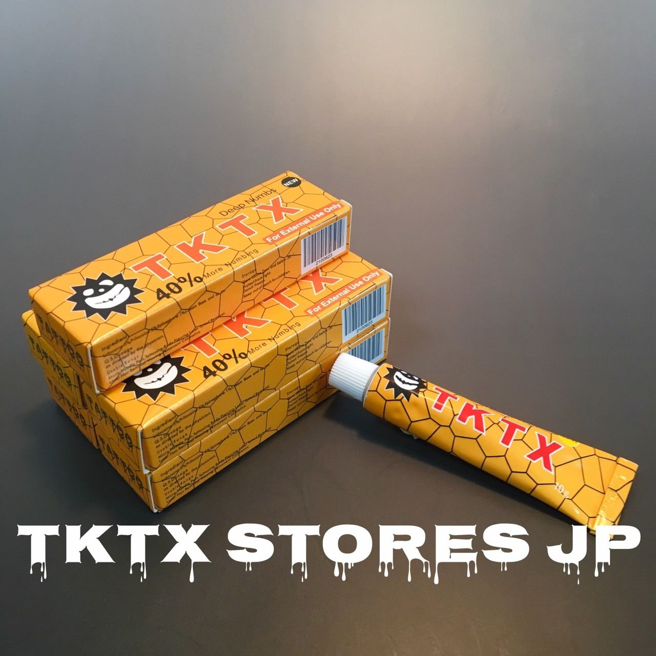 NEW TKTX  ORENGE 40% x 5set
