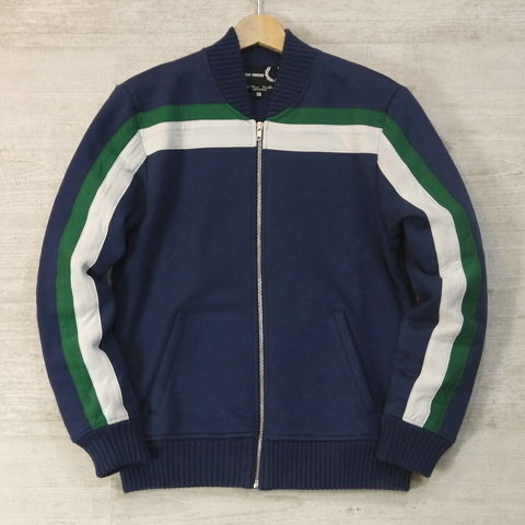 【FRED PERRY × RAF SIMONS/フレッドペリー ラフシモンズ】 SWEAT BOMBER (RAF DARK BLUE)