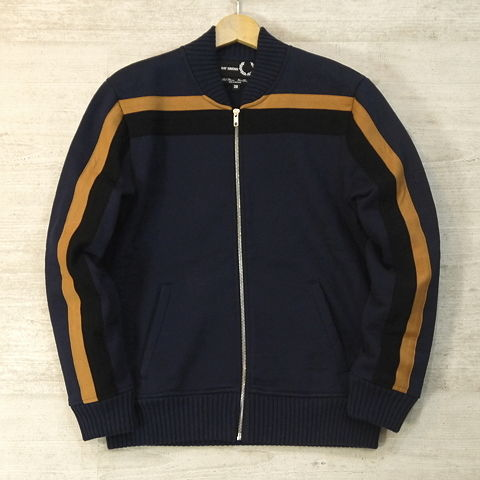 【FRED PERRY × RAF SIMONS/フレッドペリー ラフシモンズ】 SWEAT BOMBER (RAF DARK NAVY)