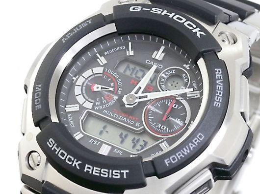 カシオ CASIO Gショック MT-G 電波タフソーラー アナデジ 腕時計 MTG-1500-1AJF 国内正規