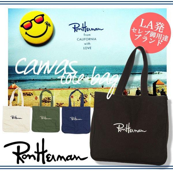 ◆TOKYO◆Ron Herman ロンハーマン    トートバッグ   キャンバス