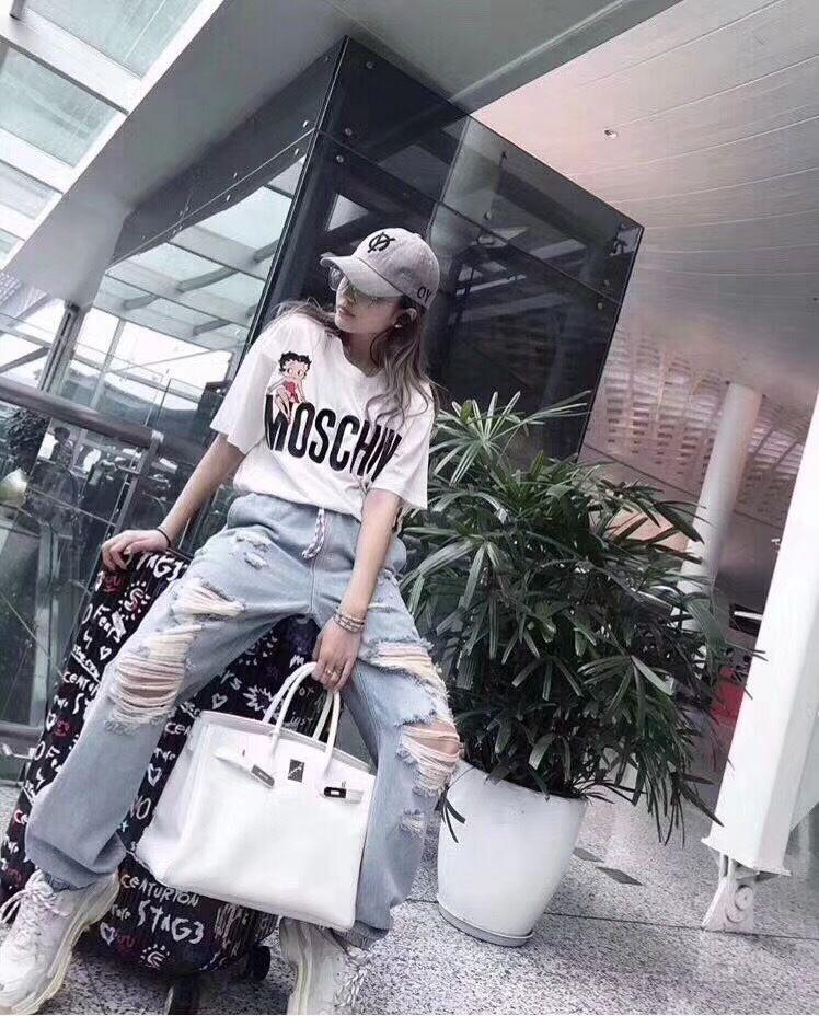 ◆TOKYO◆MOSCHINO モスキーノ Tシャツ カットソー ファッショ