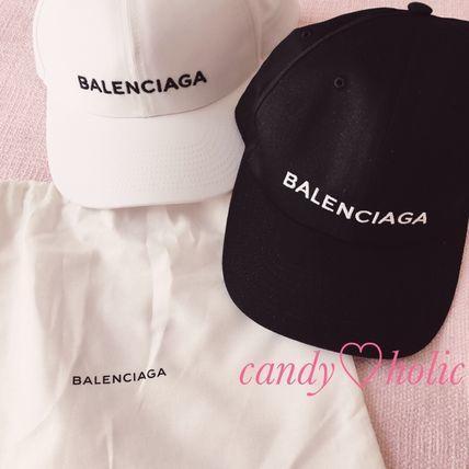 【国内完売】BALENCIAGA 超レア?ロゴ キャップ 2色