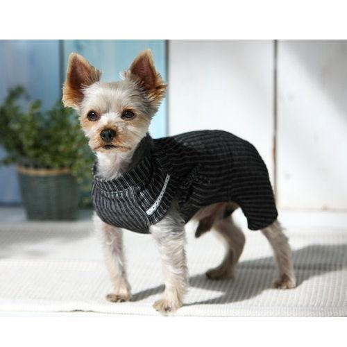 犬服 クール甚平パンツ ストライプ