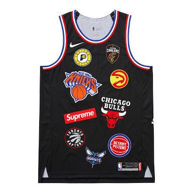 18ss supreme  NBA  NIKE  set up