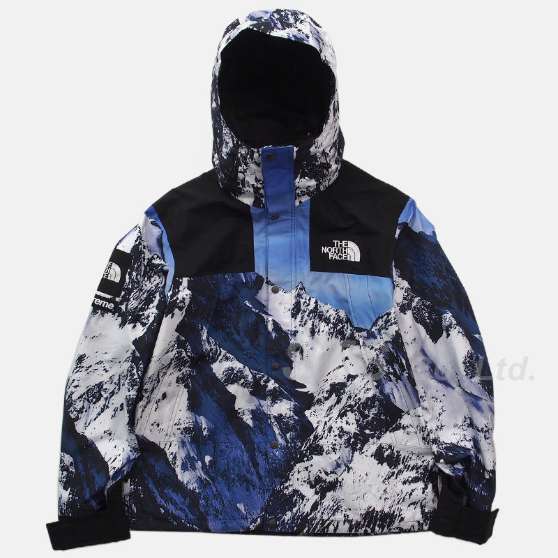 17fw supreme × the north face mountain jacket