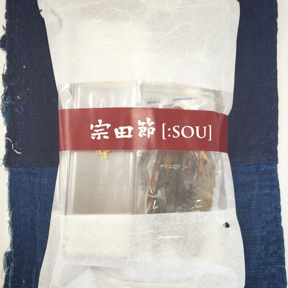 宗田節【:SOU】削り器と節70gのセット