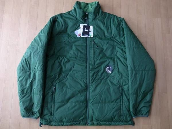 STUSSY リバーシブル・THERMOLITE中綿・ジャケット サイズ・XL 正規品(STUSSYJAPAN) 未使用品 -353