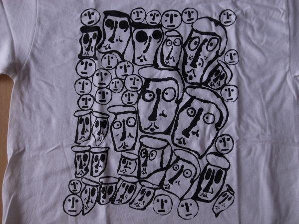 Donald Baechler CROWD Tシャツ S ドナルド バチェラー