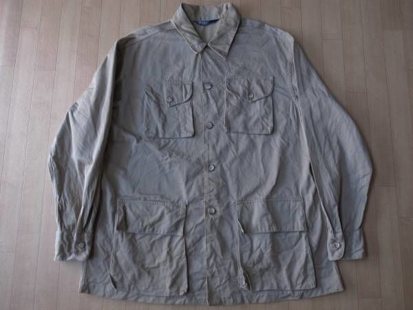 POLO by RALPH LAUREN オールド・シャツジャケット サイズ・L 正規品 難有り -124