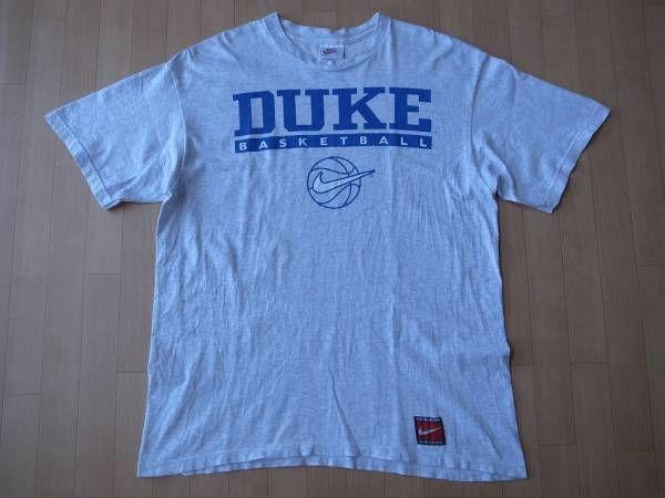 DUKE BASKETBALL オールド・NIKE製・Tシャツ