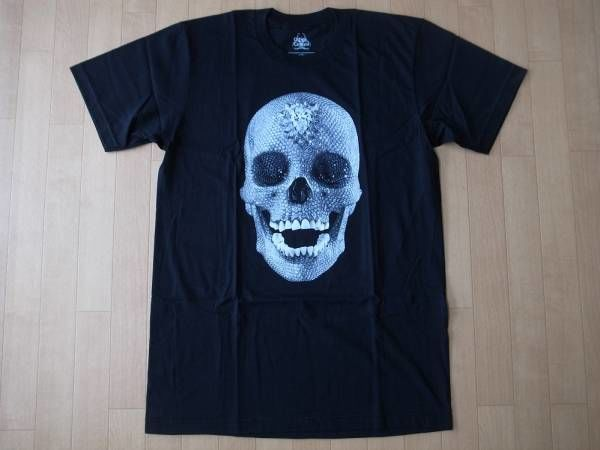 Damien Hirst For the Love of God・Diamond Skull・Tシャツ サイズ・M 正規品 未使用品 -936