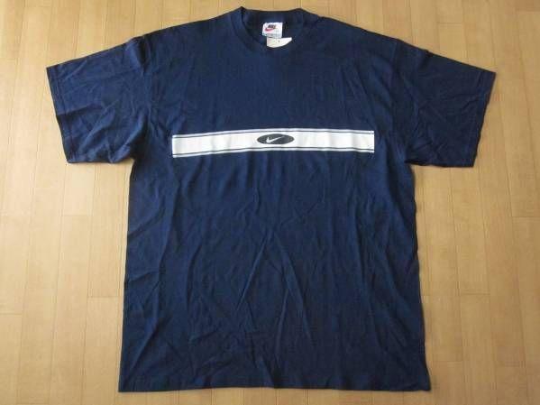 90's USA製 NIKE Swoosh Tシャツ L スウォッシュ オールド ワンボーダー スウッシュ NSW ナイキ【deg】