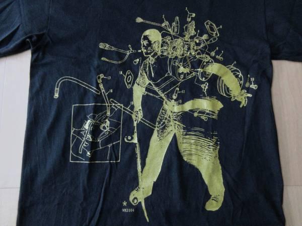 WK interact Tシャツ S ブラック インターアクト グラフィティ ストリート アート スケートボード ART 芸術 現代美術 Banksy バンクシー【deg】