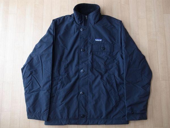 パタゴニア M's Chiminea Jacket シェル フリース ジャケット S 黒 PATAGONIAチミネア レトロ ボア パイル ブルゾン カーディガン 【deg】