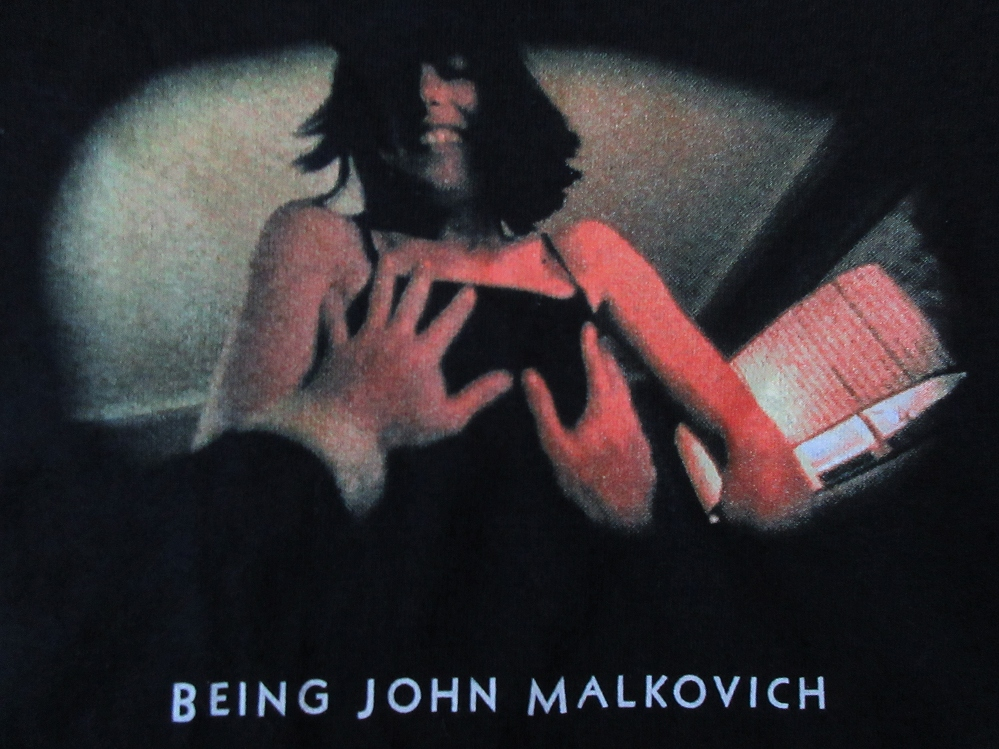 マルコヴィッチの穴 SOPH. コラボ MaxineフォトTシャツM Being John MalkovichソフネットSOPHNET.マキシンSpike Jonze芸術【deg】