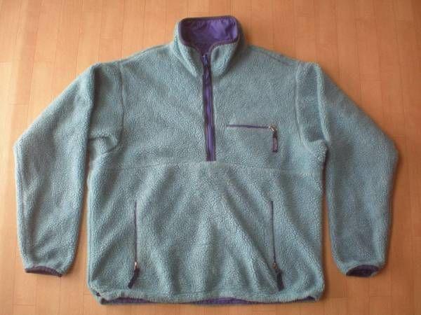 PATAGONIA グリセード・ハーフジップ・ジャケット サイズ・L 正規品 MADE IN USA 629 難有り -877