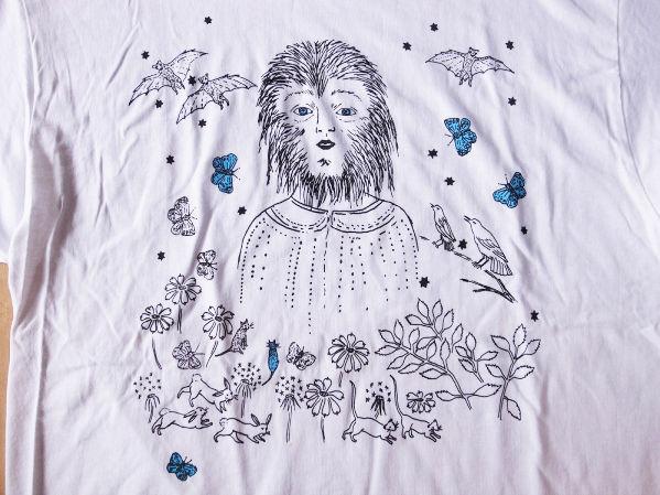 Kiki Smith Wolf Girl Tシャツ 【キキ スミス 】