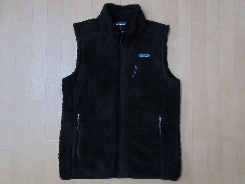 パタゴニア Men's Los Gatos Vest フリース ベスト S ブラック 黒 PATAGONIA ロス ガトス パイル レトロカーディガン レトロX ジャケット【deg】