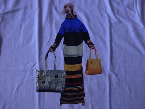 90's William Wegman Weimaraner 犬 Tシャツ