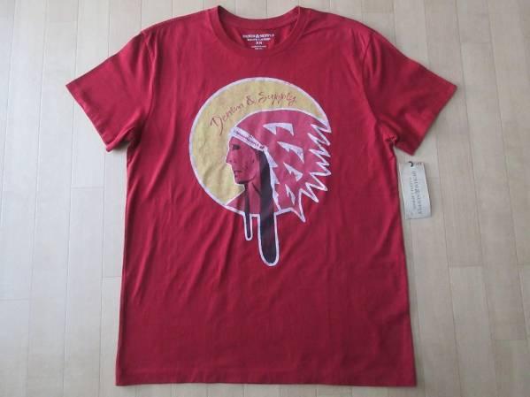 DENIM&SUPPLY RALPH LAUREN ラルフローレン インディアン Tシャツ XS ラルフPOLO【deg】