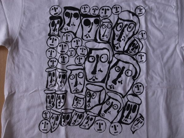 Donald Baechler CROWD Tシャツ S ドナルド バチェラー ART 美術 アート 現代美術 コンテンポラリーアート【deg】