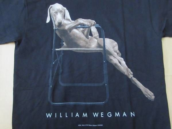 90's William Wegman Weimaraner  Tシャツ s