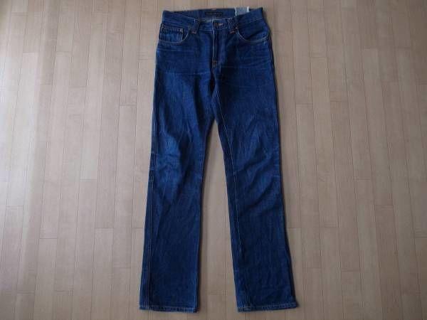 Nudie Jeans SLIM JIM AGED ORGANIC DRY・デニムパンツ