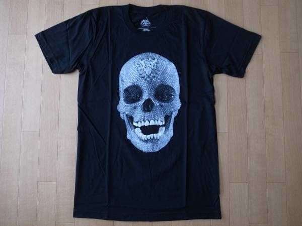 Damien Hirst For the Love of God・Diamond Skull・Tシャツ サイズ・S 正規品 未使用品 -941