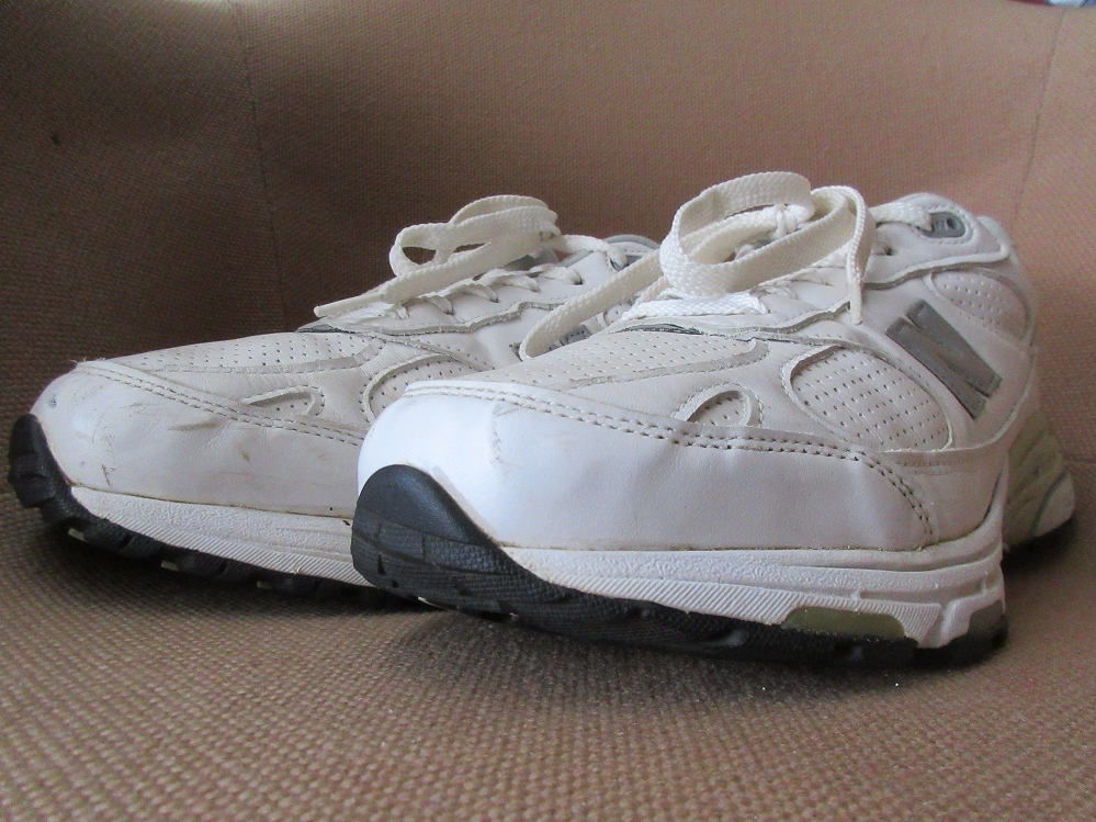 USA製 限定 New Balance M993 LWT Heritage Collection WHITE LEATHER スニーカー 28.5cm Dホワイト 白 アメリカ製【deg】