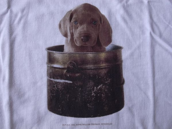 90's William Wegman Weimaraner  半袖 アートTシャツ